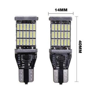 Lampadina DHL Super Bright T15 W16W 921 45 SMD LED 4014 Auto Car Canbus Marker lampade Light Reading illuminazione interna