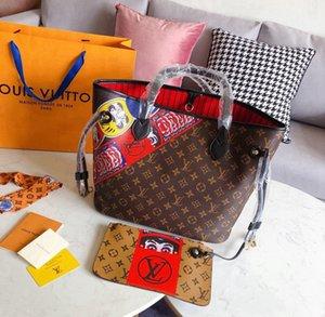 Mulheres cadeia de moda embreagem Couro sacos de ombro pures de luxo de couro mensageiro tiracolo aba waliet tote -2843