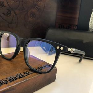 Gözlük Retro Stili Dikdörtgen Çerçeve Optik Mercek Üst Kalite Kasa ile gelip temizlemek erkek Designer İçin Yeni BIG RICKY moda gözlük