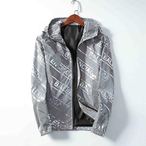 Moda di lusso Mens Designer Giacche Giacca a vento con cappuccio Giacca Uomo Donna Autunno Inverno Casual Sport Felpe con cappuccio Giacche Cappotti BJ20123