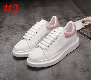 Classic Mens Womens Leather Casual Shoes Lace Up Designer Comfort Pretty Sneakers Men's Trainers Luxury Daily Lifestyle