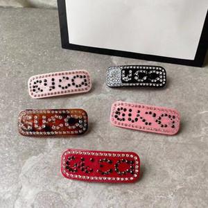 Neue Luxus-Designerschmuck Frauen Haarspange Bling Bling Buchstaben G Haarspange Frauen Designer Spangen Geschenk für Love New Arrival