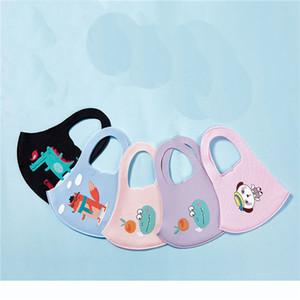 Design Enfants jetables à usage unique Cartoon Visage Masques Couches Thicken PM2,5 protection anti reniflard Masque anti-poussière pour Masque enfants bouche visage