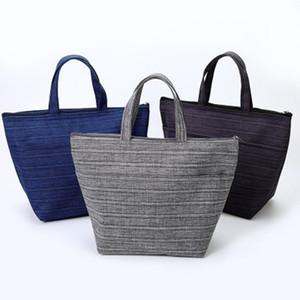 Impermeabile Thermo pranzo al sacco sacchetti di picnic portatile borsa Cooler Bag Student donne all'aperto Insulated Lunch Box Pouch 3 colori DBC BH3100