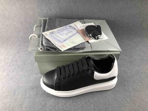 Modedesignerschuhe echter Leder Designer-Turnschuh-beiläufige Schuh-Frau Mann Frau Junge Mädchen Schuh bestes Kleid Schuhwanderung Schuh