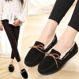 Designer-ort en peluche Temps libre Confortable Convient vêtements d'hiver Flock Mode Chaussons Chaussures SH190726 Ma'am