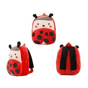Baby Cute Animal Plush Backpack School Bags Cartoon Cute Butterfly Bee Children Bag Kindergarten Schoolbag Girls Boys Backpack
