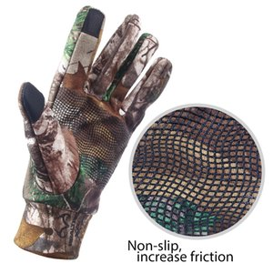 Fishing Glove Keep Warm Touch Screen Hunting Camping Cycling Camouflage Outdoor Sport Fishing Equipment