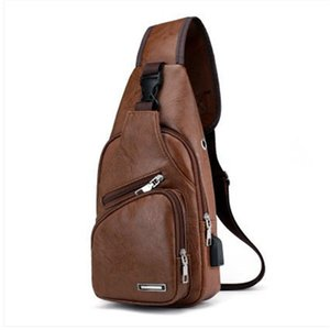 Couro Bolsa de Cintura Casual Business Messenger Ombro do Designer Shoulder Luxo Bag Men Bag Crossbody Bolsa de carregamento Anti-roubo exterior
