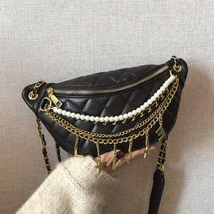 2019 nouvelle de la mode Chine Hobos femmes Messenger Bag Chains PU cuir femmes Plaid Sac à bandoulière Mode Sac Velour hutongli / 11