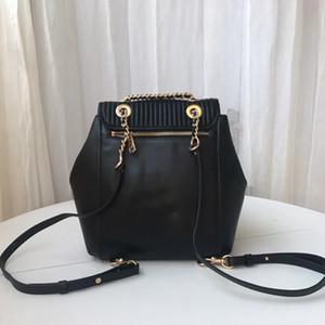 Sac à dos 2020 nouvelles femmes Rayures Sacs dames Lettre en cuir véritable sac à dos Lady Purse dames Sacs à main Livraison gratuite
