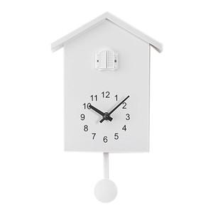 الوقواق ساعة الحائط بين الساعة حركة شاليه الحد الأدنى على غرار التصميم الحديث