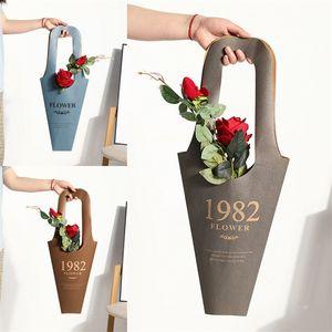 Matériau en papier Fleur Wrap Sacs Empêcher Fleurs D'eau Sac D'emballage Festival Emballages Cadeaux Sac Nouvelle Arrivée 3 1xm L1