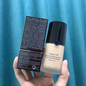 Жидкая Основа для макияжа Дизайнер Lift Сглаживание Укрепляющий Foundation Maquillage 30мл Синий Красный Марка Дизайнер Косметика DHL