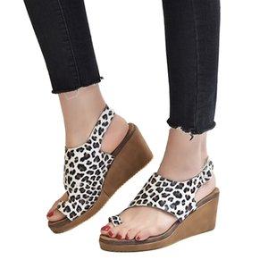 SARAIRIS 2020 Atacado Tamanho Big 43 Moda de Nova Mulher Sandálias Sapatos Buckle Strap Platform Wedge Heels Shoes Mulheres Sandálias
