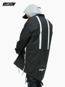 Homens Streetwear VIISHOW revestimento do inverno dos homens Brand Park 2018 Inverno Masculino Jacket Manteau Homme Hiver Casaco masculino MC2310184