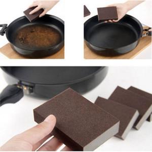 Magie Reinigungsschwamm Carborundum Haushalt Werkzeuge Radiergummi Cotton Emery Sponge Küchenutensilien Badezimmer Zubehör Geschirr