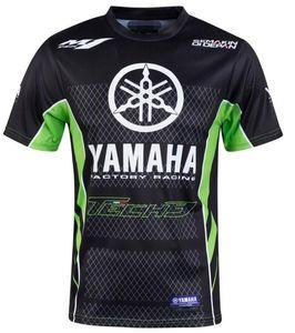 2020 nuova moto a cavallo di abbigliamento per il tempo libero della squadra Yamaha mesh traspirante moto ad asciugatura rapida corsa manica corta breathabl gli uomini della T-shirt