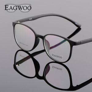 EAGWOO Silicon plástico menina Student Boy Óculos Rodada Vintage Frame ótico para Cat Youngers Eye Spetacles Janela 890272