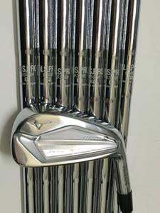 빠른 배송 최고 품질 골프 클럽 JPX919 골프 아이언 세트 10 종류의 샤프트 가능