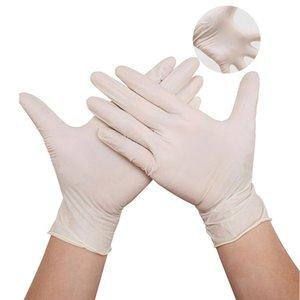 Guanti monouso 100pcs / lot protezione nitrile fabbrica Salon Domestici di gomma da giardino Guanti universale per mano sinistra e destra