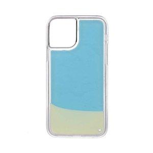 Neon Glow in Darkness Noctlucent scintillio di caso per iPhone 11 liquido luminoso sabbia sabbie mobili del telefono Caso iPhone Per 6 7 8 Plus X XS XR MAX