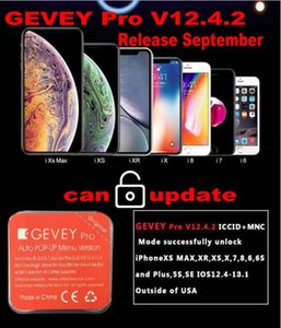 September updatable by dongle ICCID+MNC for ios13 12.4.2 GEVEY PRO unlock worldly perfect for iphone x xs xr max iphone8 7 6 5s SE all c
