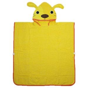 Emmababy Toddler Kids Robe Cartoon Animal Cute Novelty Hooded Plush Bathrobe Sleepwear High Quality Comfortable Cotton 2019 New