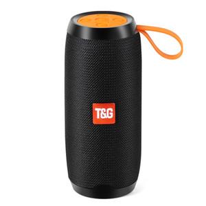 Toproad Hifi Портативный Bluetooth-динамик 10 Вт Беспроводная Стерео Колонка Ткань Сабвуферы Поддержка Tf Карта Fm Радио Usb Aux T190704
