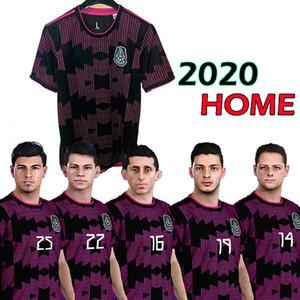 2020 mexico home soccer jerseys LOZANO CHICHARITO RAUL football shirt 2020 DOS SANTOS mexico Camisetas de futbol LAYUN maillot de foot