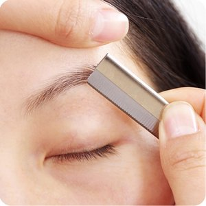 Beauty Beauty blade wiper eyebrow trimming knife instrument special for makeup artist Japanese eyebrow trimming blade 10 pieces