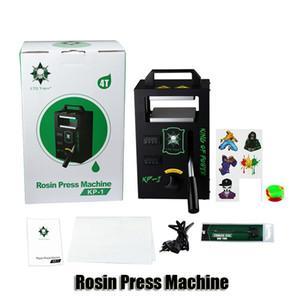 LTQ originale vapeur Rosin KP-Machine de presse 1 KP-2 Wax DAB squeezer température réglable outil Extracting Avec 4 Kit Presser tonnes authentique
