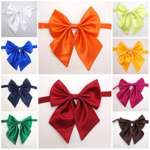 Hot-sale 20colors Adult children Pure color bowknot necktie accessories decoration Supplies Bow tie flower T10I0028