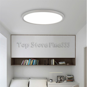 80CM الفاخرة الصمام سقف الصمام أضواء السقف إضاءة مصباح الحديثة غرفة المعيشة المطبخ سطح جبل التحكم عن بعد