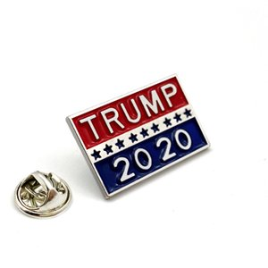 Free Shipping TRUMP 2020 Symbol Badge cupom Star Admission Tickets Cool Poker Cool Coat Coat Jackets Backpage Lapel Pins Movie Fans Gifts