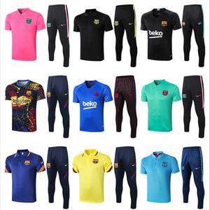 2020 2021 Bar Messi polo shirt Griezmann mens jacket Rakitic tracksuits soccer jerseys Suárez de Jong training tshirt football short suits