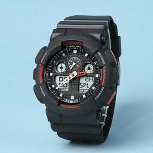 Top Qualität montre de luxe GA100 Sportuhren Männer Digital LED Designer Uhr Military chronography relogio masculino Armbanduhren