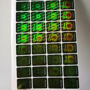 Brass Knuckles Adesivi 3D Ologramma tamper evident Adesivi / Sigilli Sticker adesivi Sapore 1: 1 dei Cloni adesivi di tenuta Ottone Authentic
