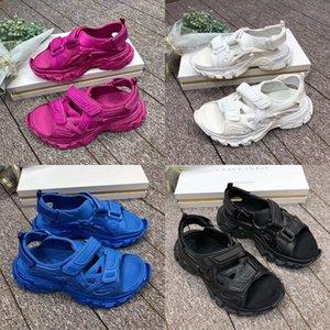 2020 Designer Sandalen Triple Mode Paris Schwarz Weiß Rot Old Dad Luxusschuhe Rot Blau Freizeitschuhe für Männer Frauen-Plattform Schuhe neu