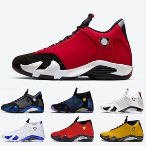 2020 Nike air jordan 14 retro 14 Jumpman 14 Gym Red 14 Zapatillas de baloncesto para hombre 14s Tamaño de calidad superior 13 para hombre de lujo negro azul blanco