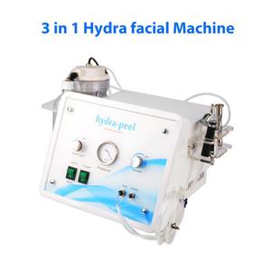 3 en 1 Hydra du visage HydraFacial diamant dermabrasion Rajeunissement de la peau rides enlèvement Hydro Clean Oxygène visage Balnéothérapie beauté Machine