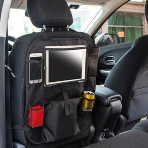 52x43cm Oxford Fabric Car Back Seat Organizer Truck Chair Hanging Storage Bag Multifunctional Functions Such As Beverage Racks