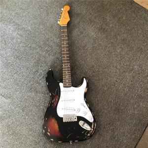 공장 사용자 정의 도매, 오래된 SRV 일 일렉트릭 기타의 수제 복사, 사용자 정의를 제공