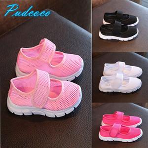 Pudcoco 2019 Marque Nouveau Mesh Enfants Baskets filles garçon respirant Sandales d'été Chaussures de plage Sneaker