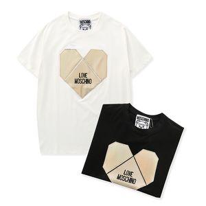 20ss Mens Brandshirts designershirts lusso camice Mens Donne T maniche estate T Short Top Fashion Casual Hoodie Felpa B105543L