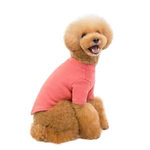 Pet Autumn And Winter Thickening Cotton T-Shirt Puppies Body Pet Warm Coat Winter Dog Clothes Hoodies Costumes Clothing