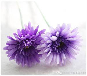 İpek Transvaal Papatya 23Colors 55cm Barberton Papatya Yapay Çiçek Sun Flower İçin Düğün Ev Partisi Dekorasyon GF10004