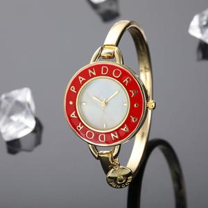 Yeni Kadın hareketi Saatler Bayanlar İzle Moda Lüks Bayan Rose Gold Rhinestone Saat için P Bilezik saatı reloj mujer saat