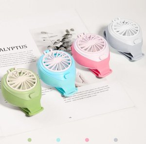 Mini Watch Fan Portable Portable USB Charging Handheld Small Fan Kids Gift Summer Cooling Fan for Office Travel Home Decor GGA3435-6