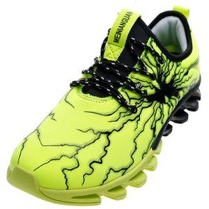 Blades Soles relâmpago Glue Superfície homens unisex calçados casuais 36-47 Com 6 Cores Elasticidade Controle antiderrapante Unisex Sneakers MX190713